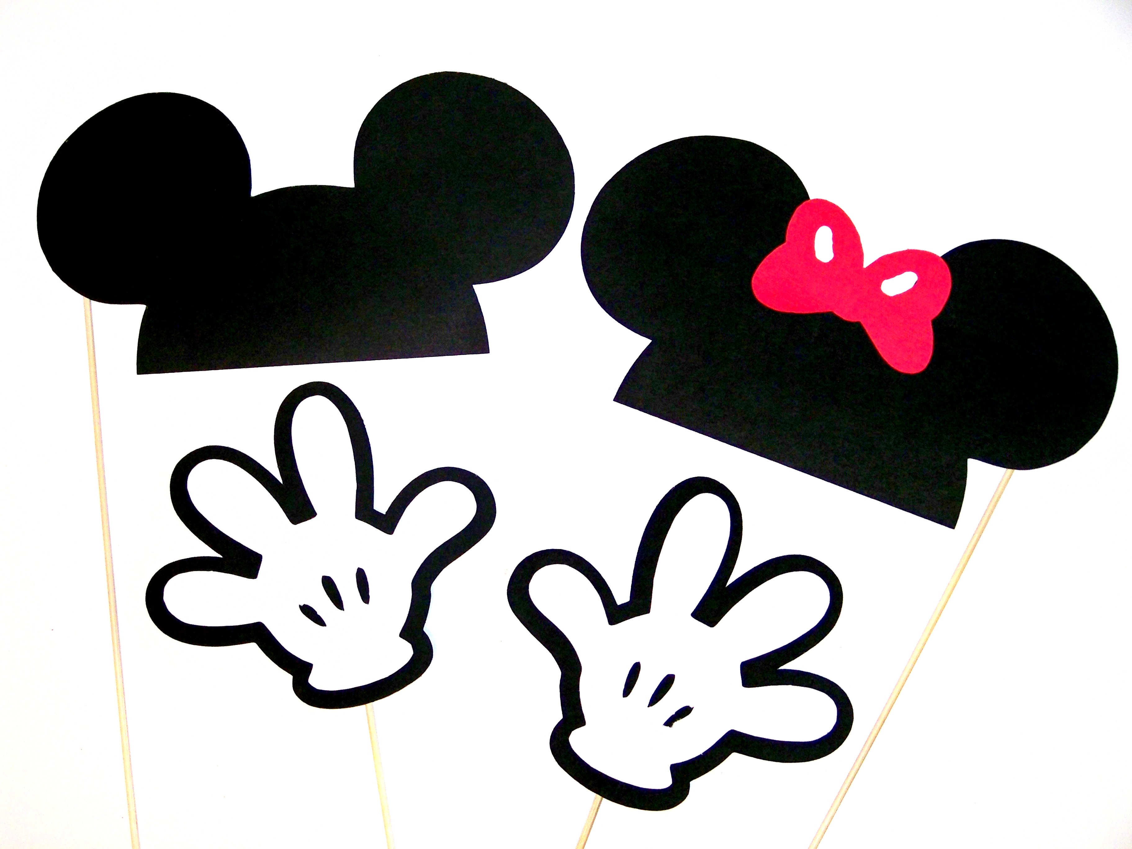 Mickey Mouse Hands Clipart.