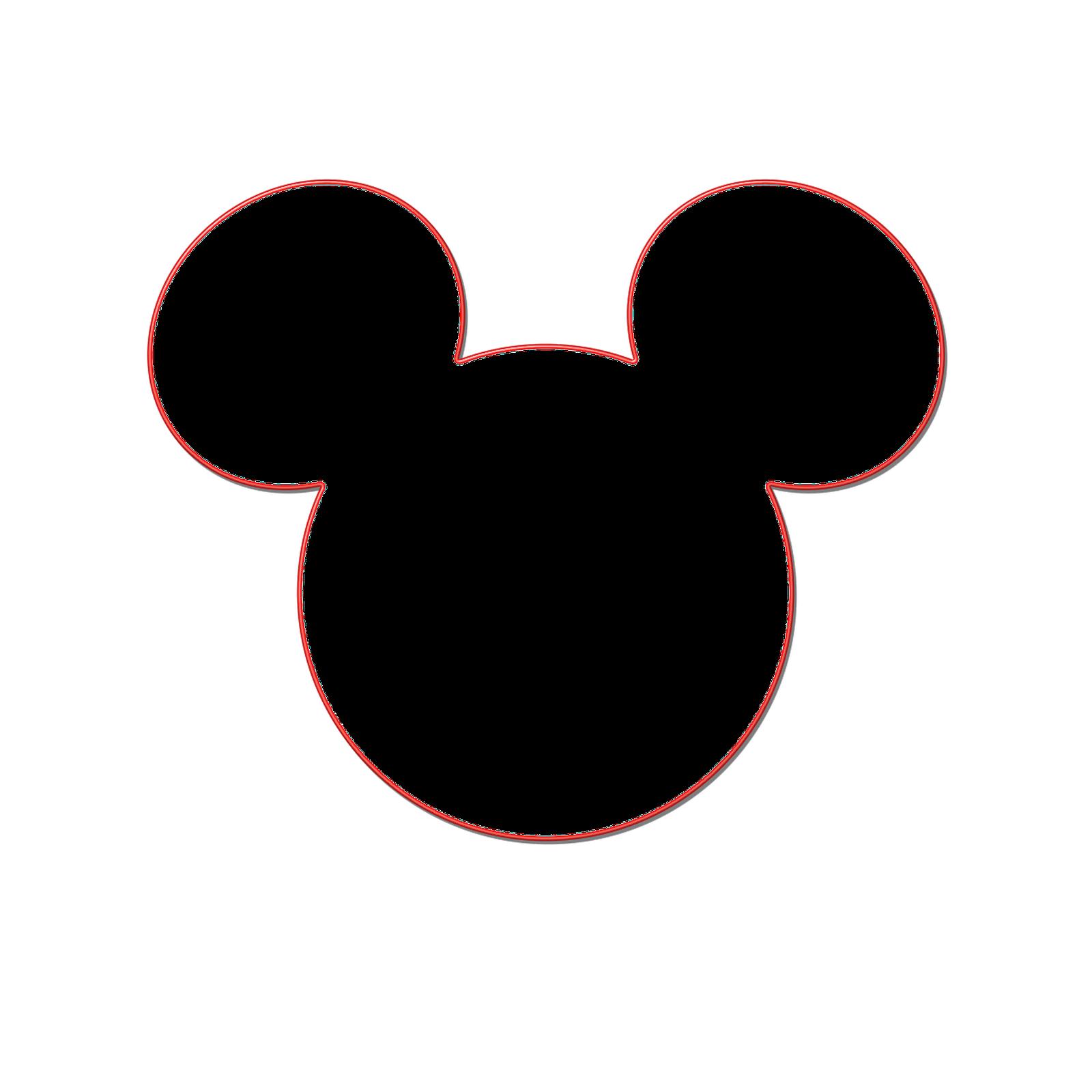 Milliepie's Musings: Making your own Mickey Head.