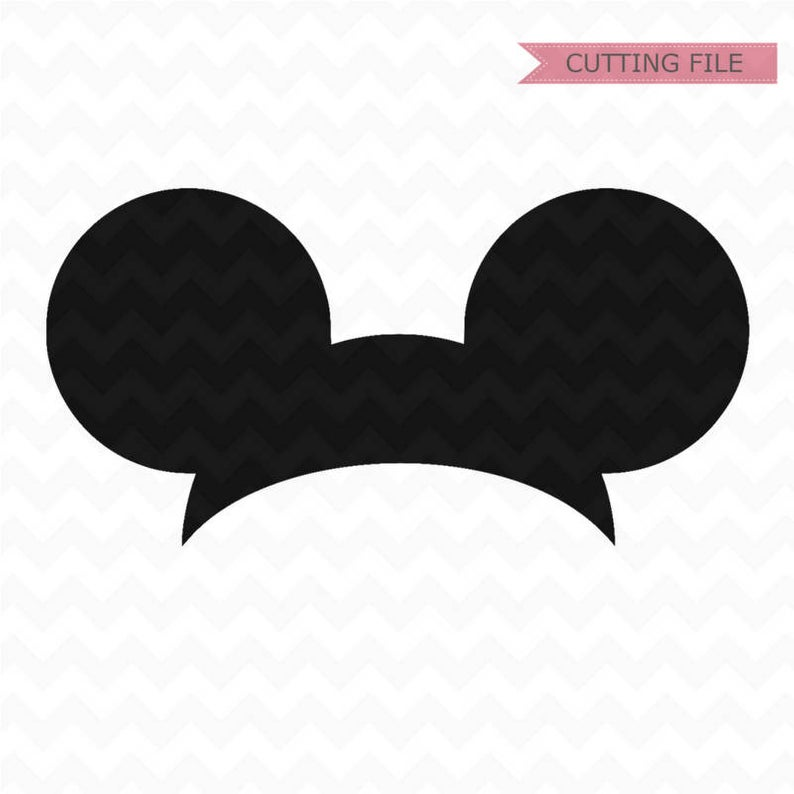 Mickey Mouse Ears svg, Mickey Mouse Head svg and png file instant download,  disney svg for cricut and silhouette.