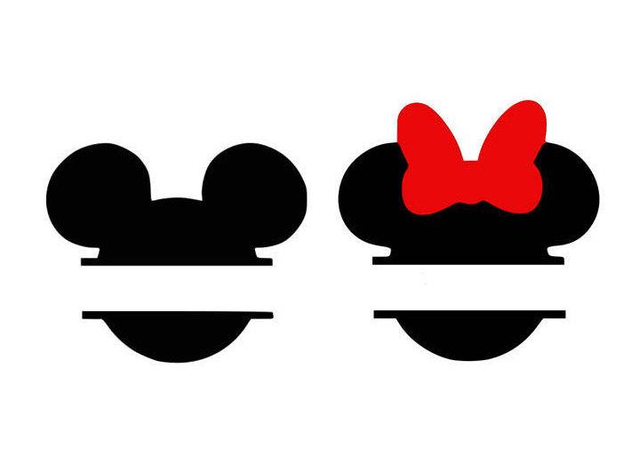 Minnie Silhouette Clipart.