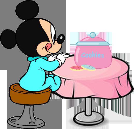 Baby Mickey Clipart.