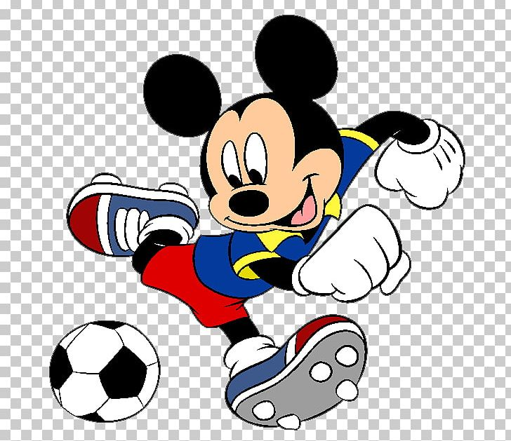 Mickey Mouse Universe Minnie Mouse Football Player PNG.