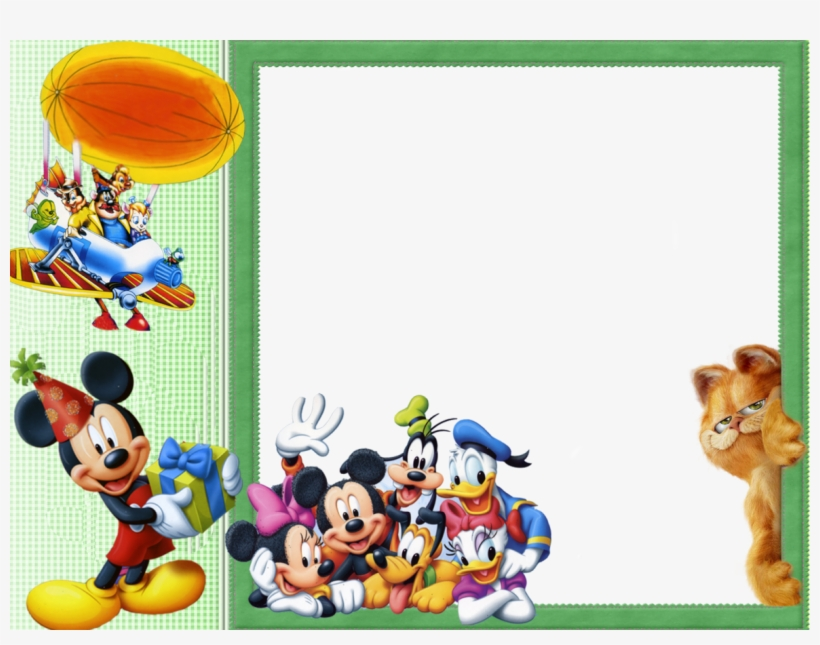 Mickey Mouse Clipart Frame.