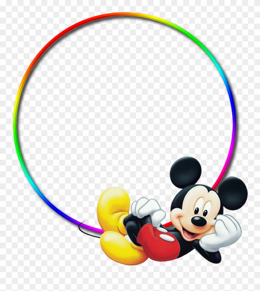 Yükle Old Fashioned Mickey Mouse Frame Image.