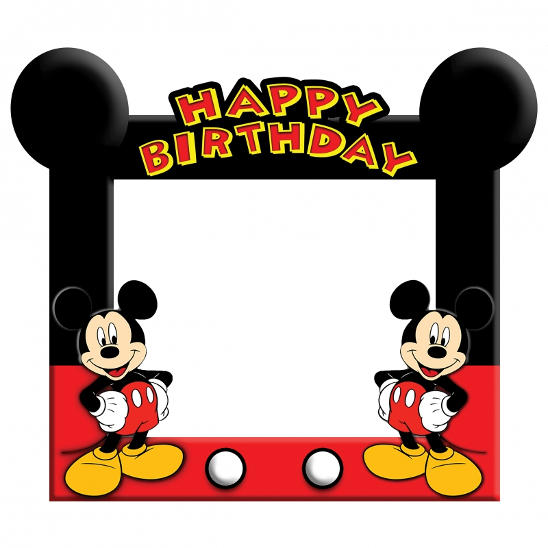 Mickey Mouse Frame Medium Size.