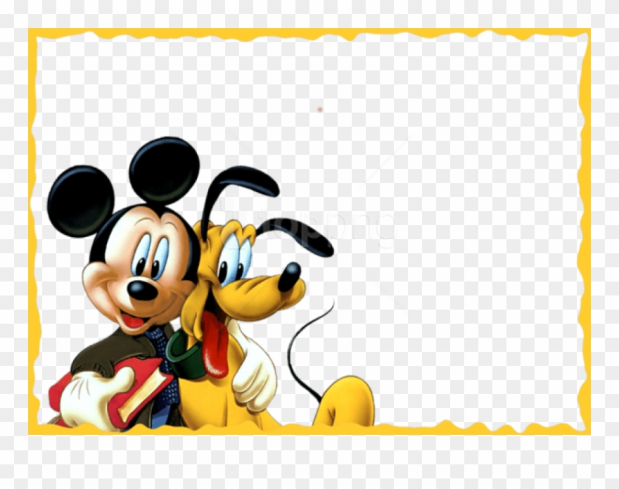 Free Png Best Stock Photos Mickey And Pluto Kidsframe.