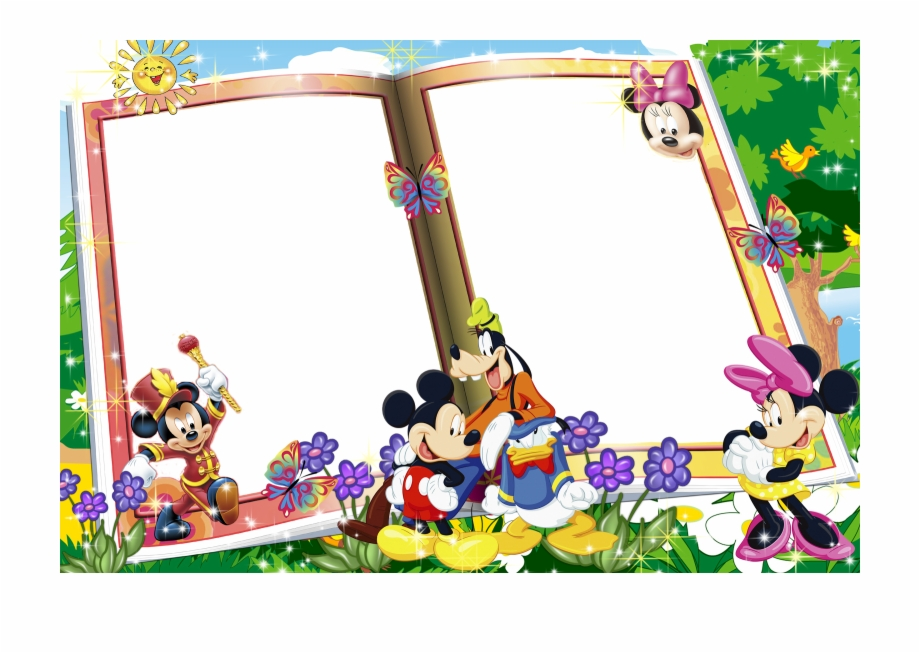 Mickey Mouse Photo Frames Png Free PNG Images & Clipart.
