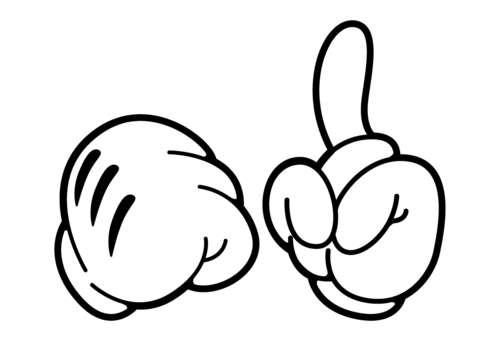 Free Mickey Mouse Hands, Download Free Clip Art, Free Clip.