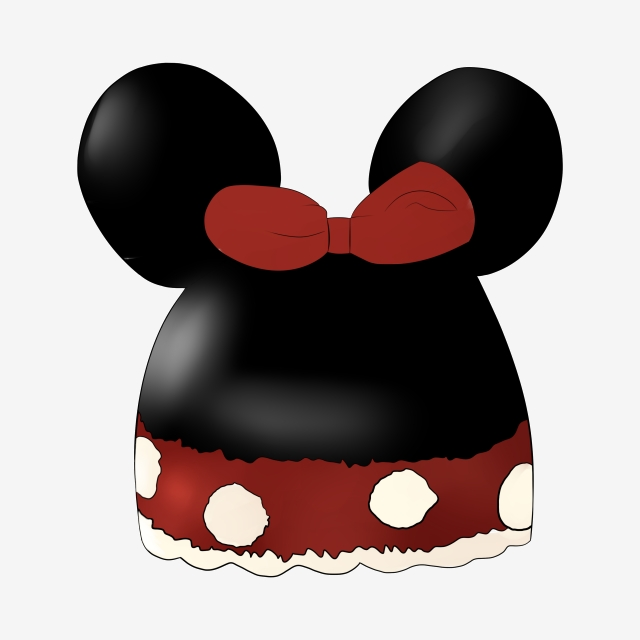 Cartoon Child Mickey Mouse Hat, Mickey Mouse, Hat, Cartoon.