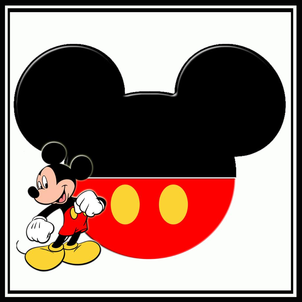 Mickey Mouse Head Vector.