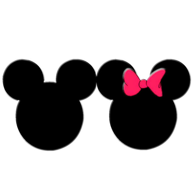 Minnie mouse head mickey mouse head clipart.