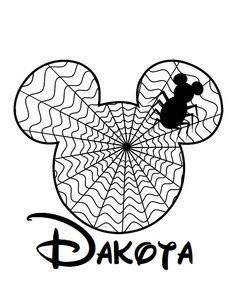 Mickey Mouse dressed as Jack Skellington INSTANT DOWNLOAD digital.
