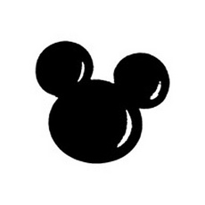 Mickey Mouse Silhouette Clip Art & Mickey Mouse Silhouette Clip.