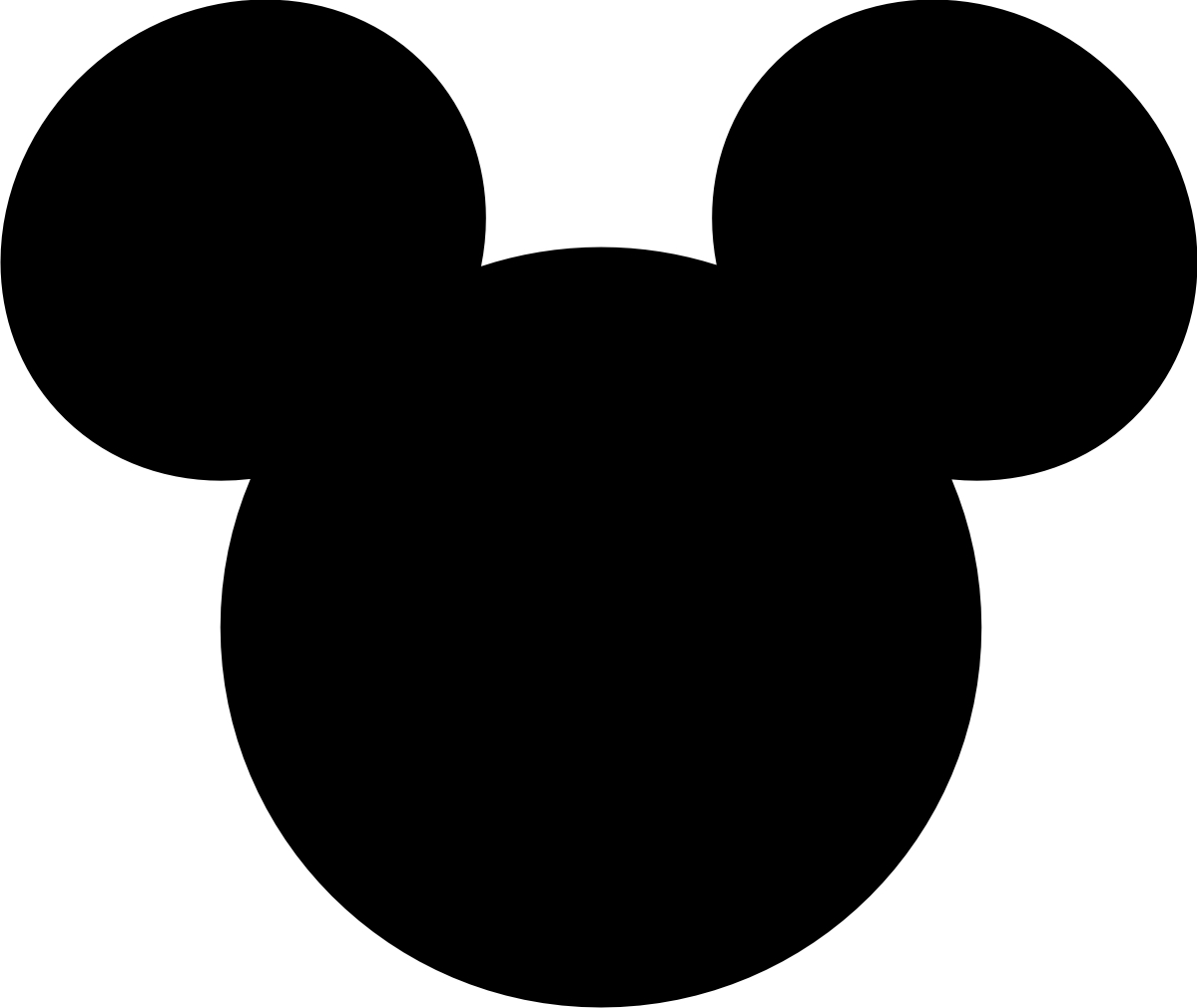 mickey mouse large printable cutouts.