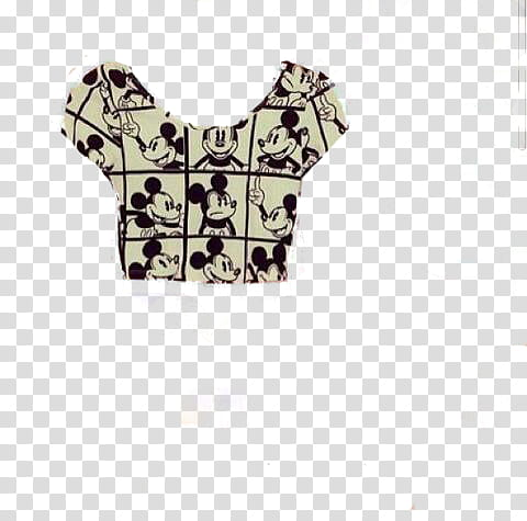 Ultimo Pedido hipster, black and white Mickey Mouse Print.