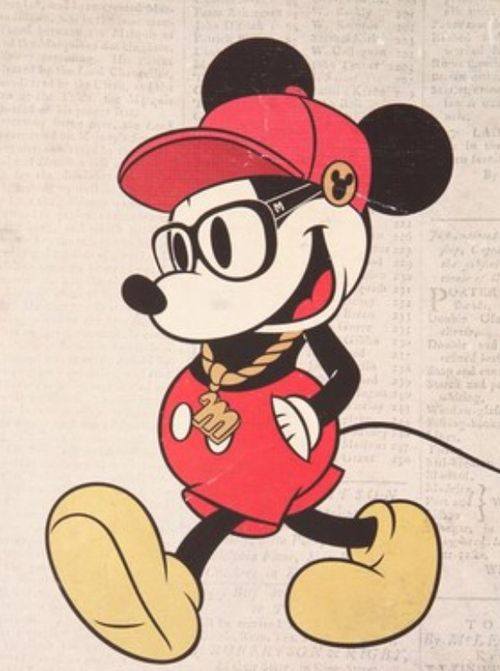 Hipster Mickey OMG THIS IS HILARIOUS!!! XD.