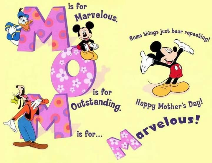 Mother's Day Mickey Mouse.