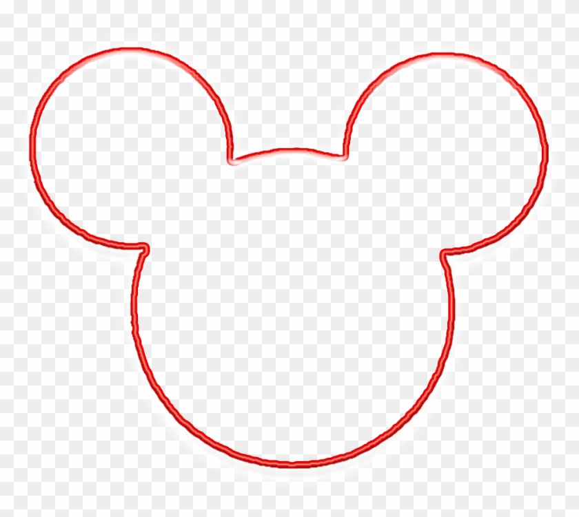 Mickey Mouse Outline Clipart Clipartsgram.