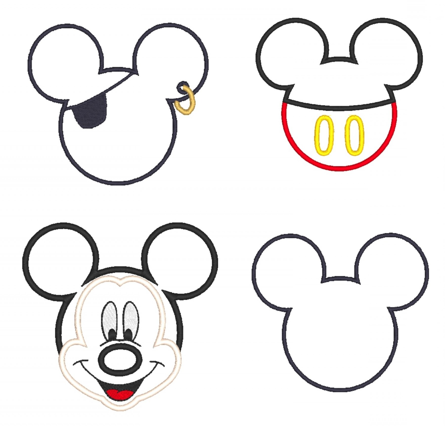 Outline Of Mickey Mouse Free Download Clip Art Gallery.
