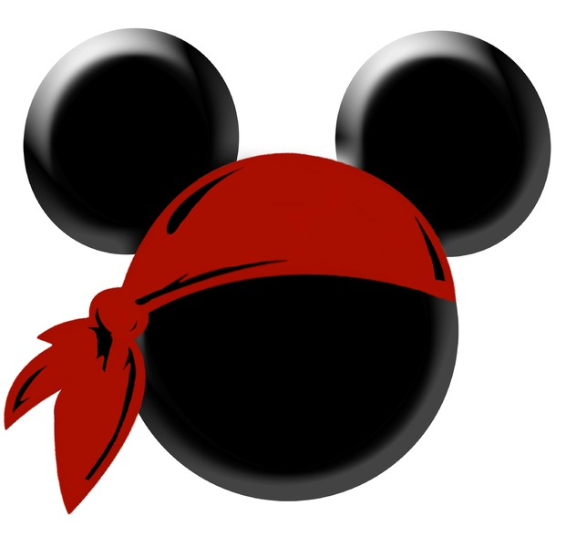 Free Pirate Mickey Silhouette, Download Free Clip Art, Free.