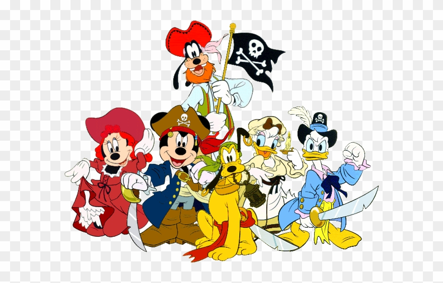 Mickey Mouse Pirates Clipart Mickey Mouse Minnie Mouse.