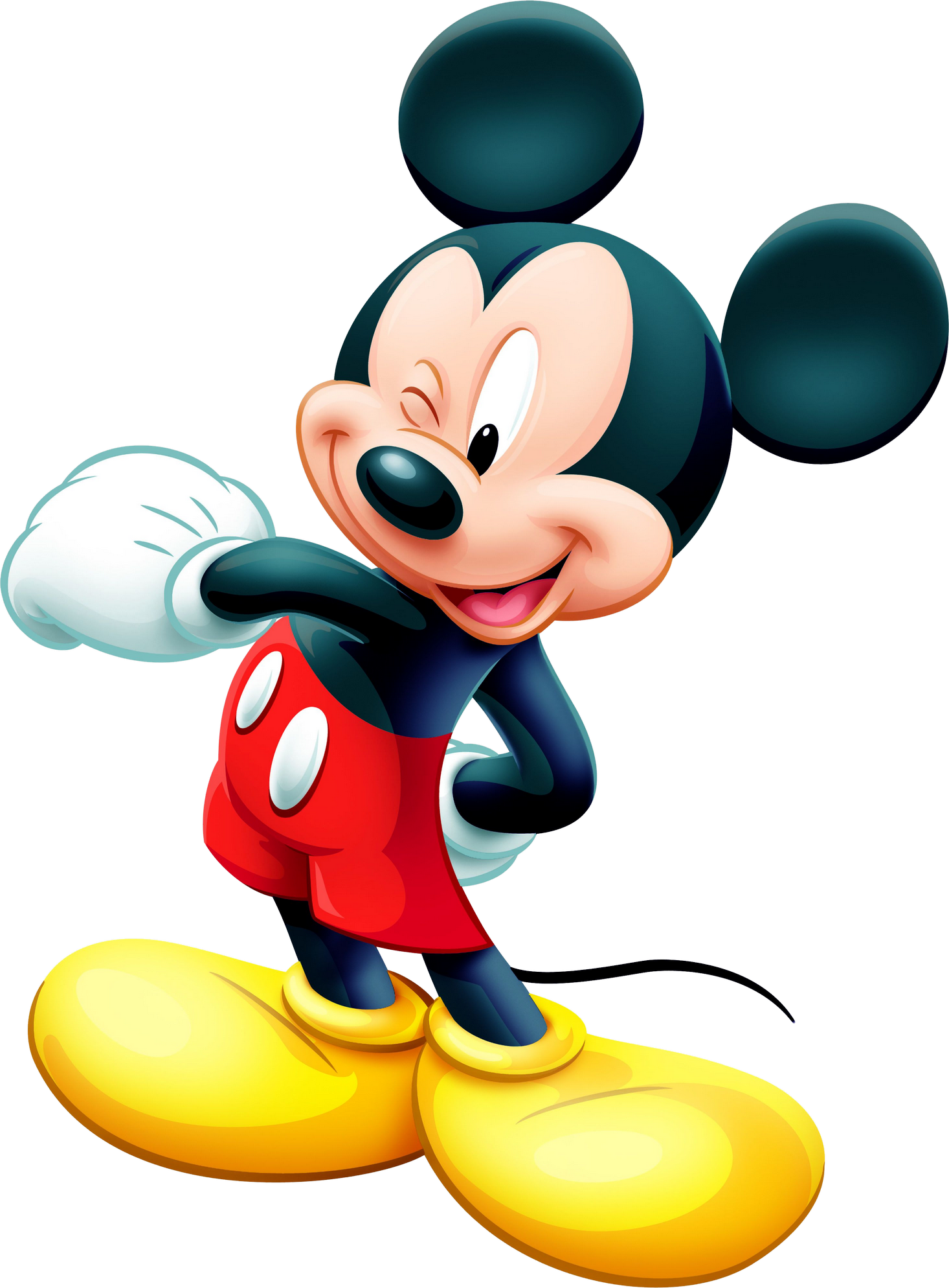 Mickey Mouse PNG Image.