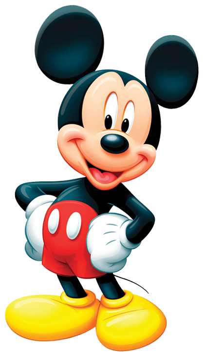 Mickey Mouse PNG Clipart.