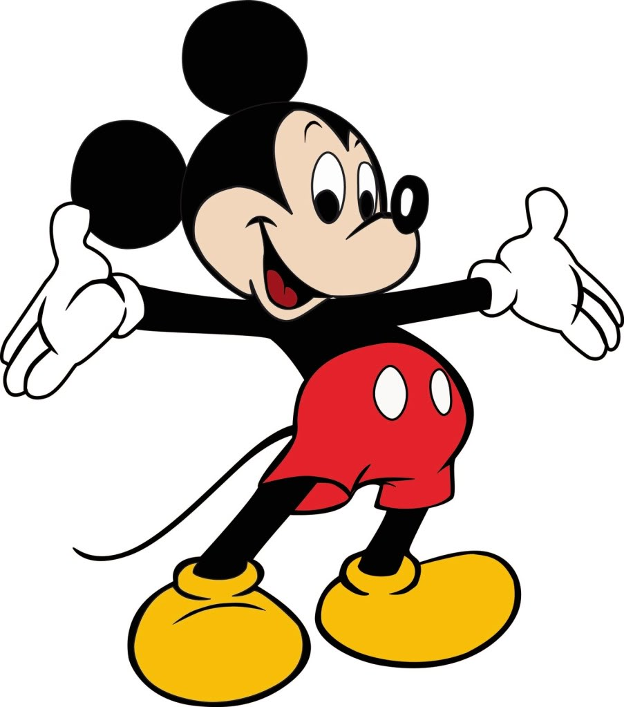 Mickey Mouse Hands Clip Art.