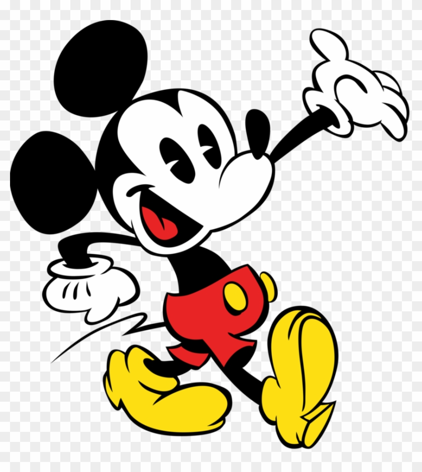 Mickey Mouse Vector By Jubaaj.