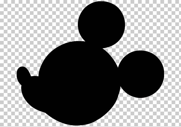 Mickey Mouse Minnie Mouse Silhouette , minnie mouse head.