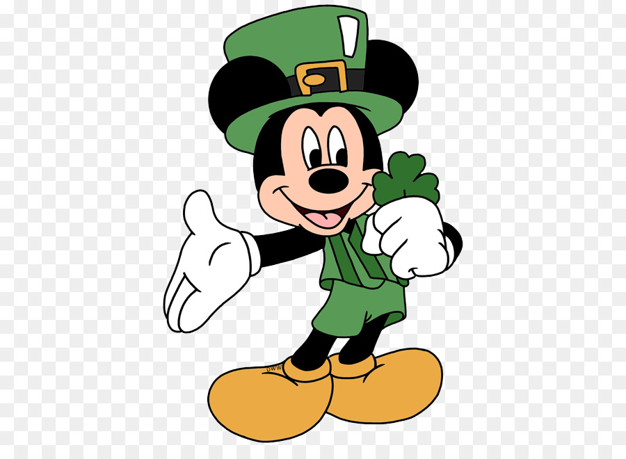 Mickey Mouse Saint Patrick\'s Day Minnie Mouse The Walt.