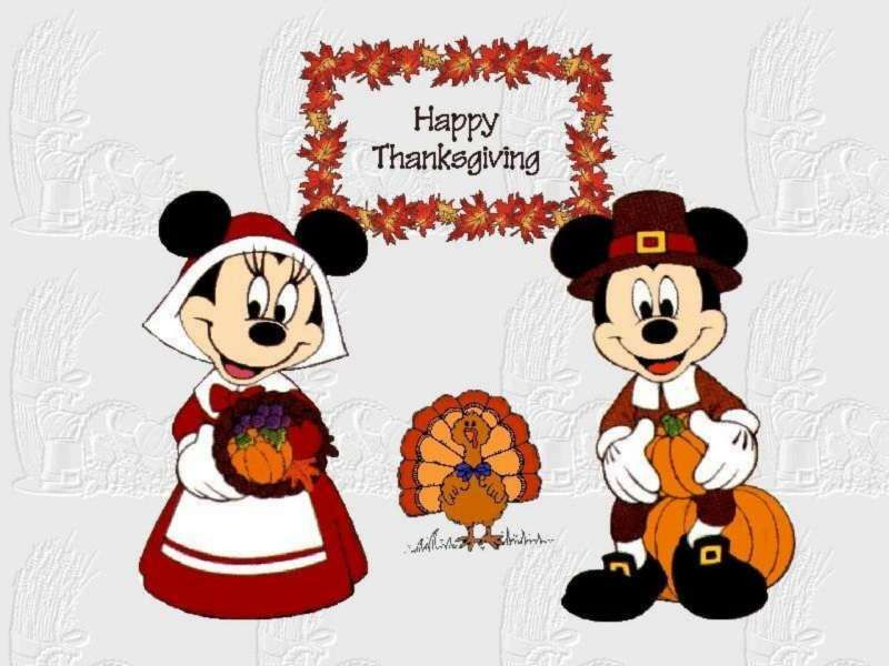 Best Mickey Mouse Thanksgiving Clipart #22524.
