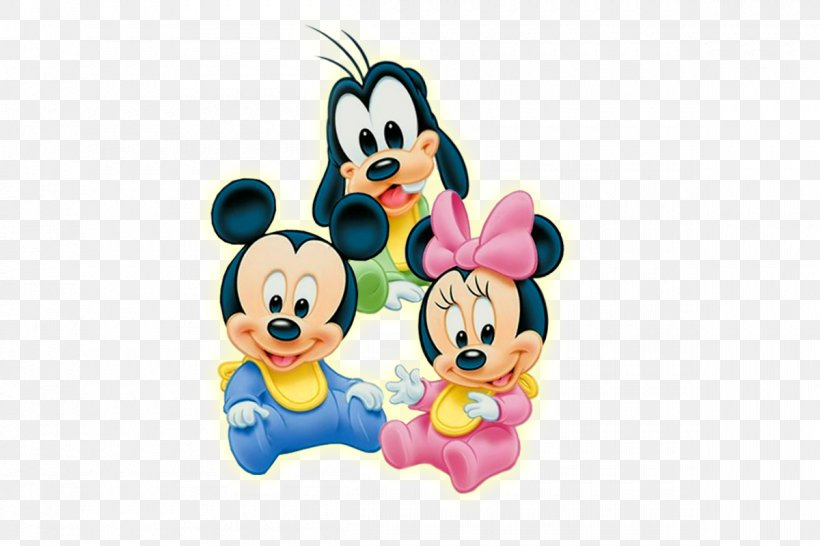 Mickey Mouse Minnie Mouse Daisy Duck Infant Clip Art, PNG.