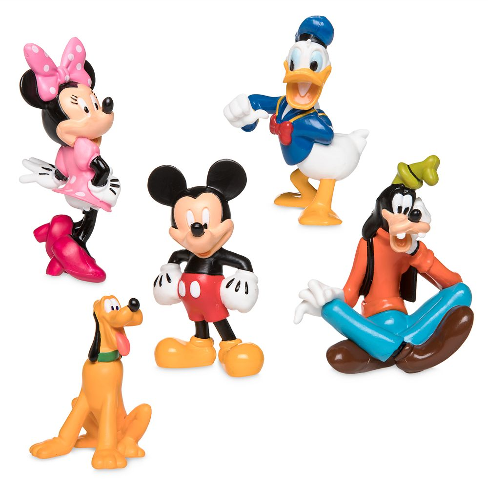 Mickey Mouse Clubhouse Figure Play Set.