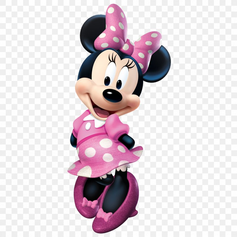 Minnie Mouse Mickey Mouse Clip Art, PNG, 1000x1000px, Minnie.