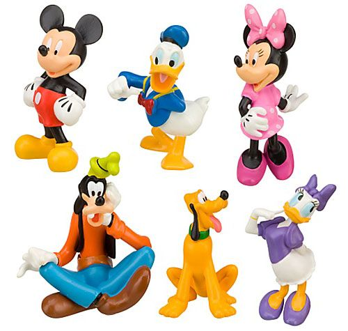 mickey mouse clubhouse character picks for cupcakes.