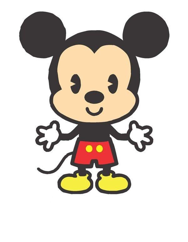 Chibi Mickey Mouse by Mistress.