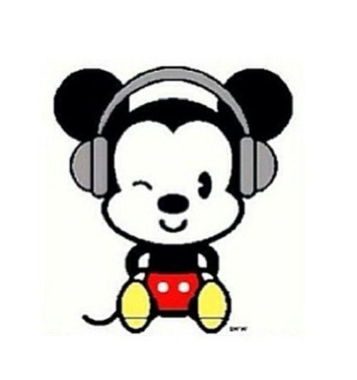 14089 Mickey free clipart.