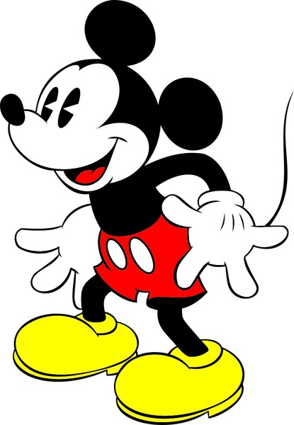 Mickey Free vector in Coreldraw cdr ( .cdr ) vector.