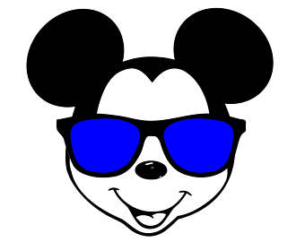 Mickey Mouse Face.