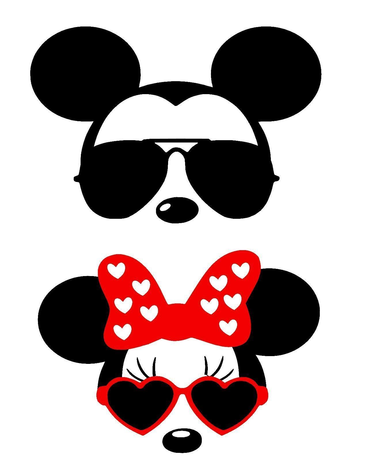 Mickey Minnie sunglasses.