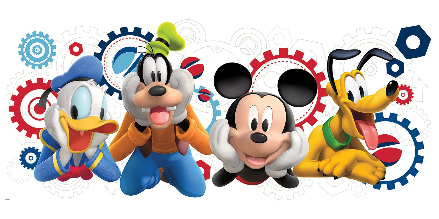 Mickey Mouse Clubhouse Wallpaper Border in 2019.