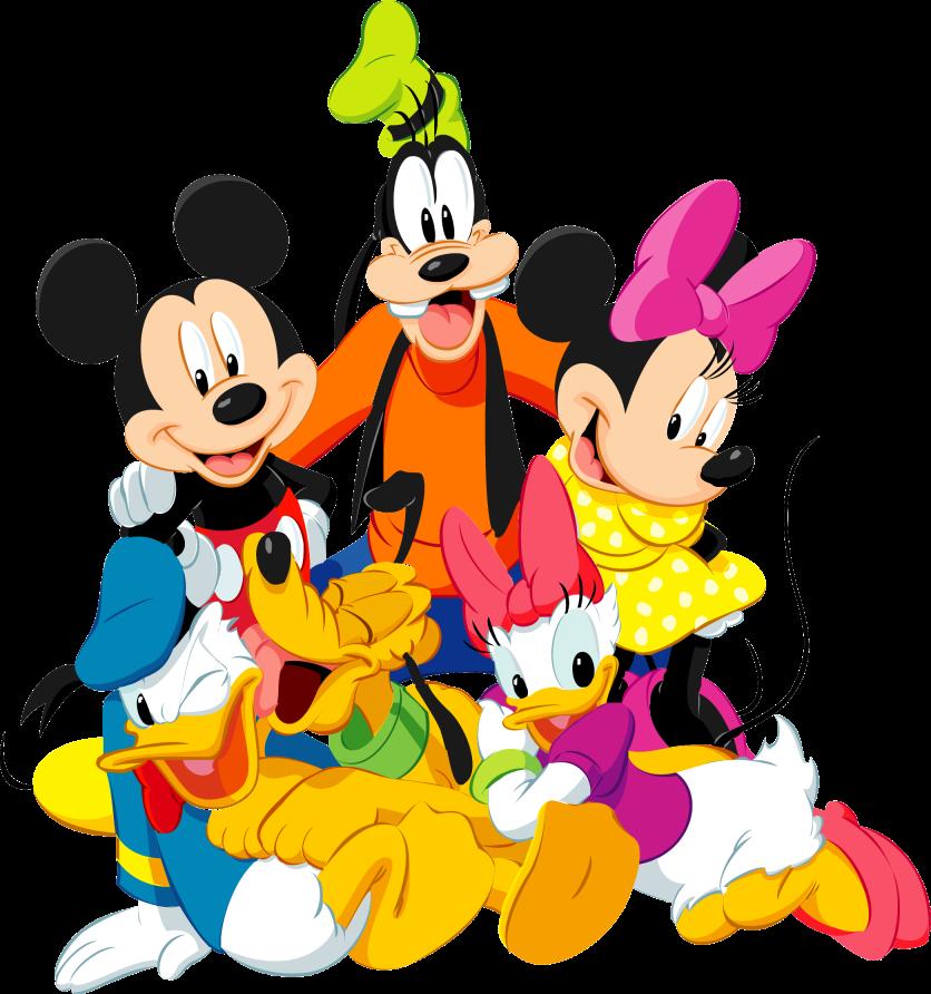 Mamá Decoradora: Mickey Mouse y sus amigos PNG descarga gratis.