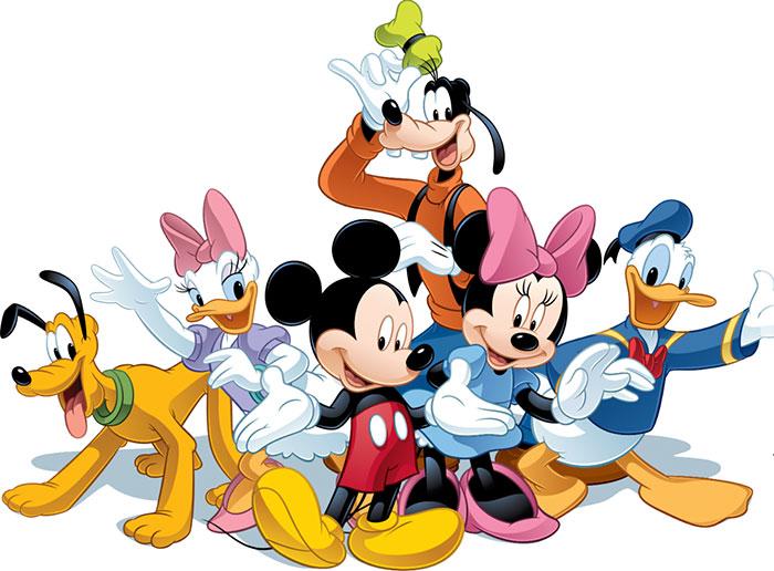 Concurso: de Disney Mickey and Friends.
