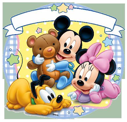 ▷ 100 Fondos de Mickey bebé.