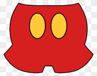 Mickey Mouse Pants Clipart (#4171944).