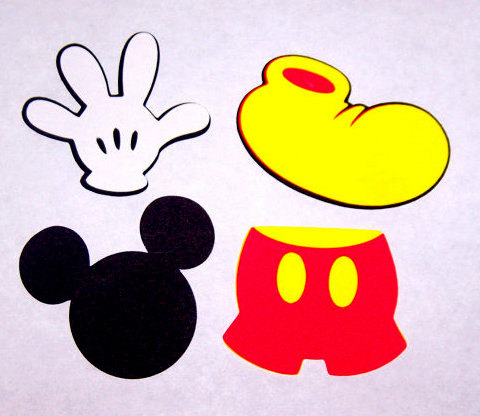 Free Mickey Mouse Cut Out, Download Free Clip Art, Free Clip.