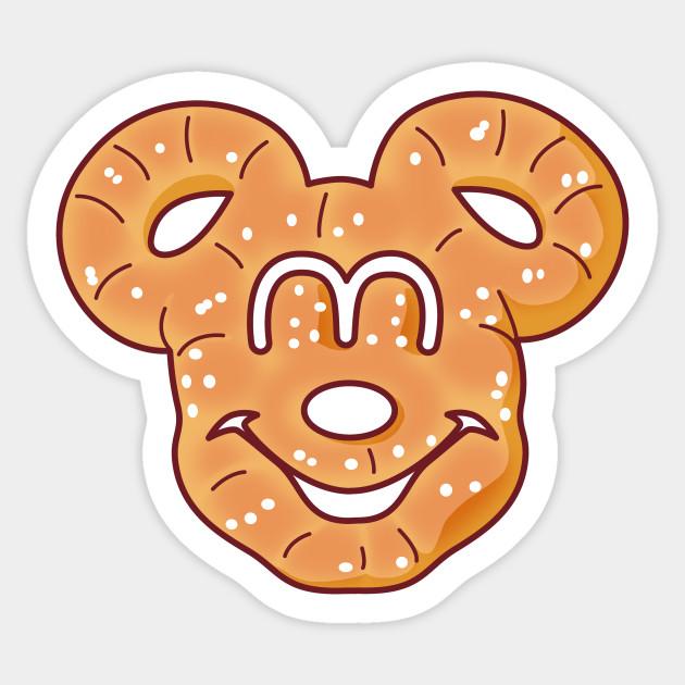 Mickey clipart pretzels, Mickey pretzels Transparent FREE.