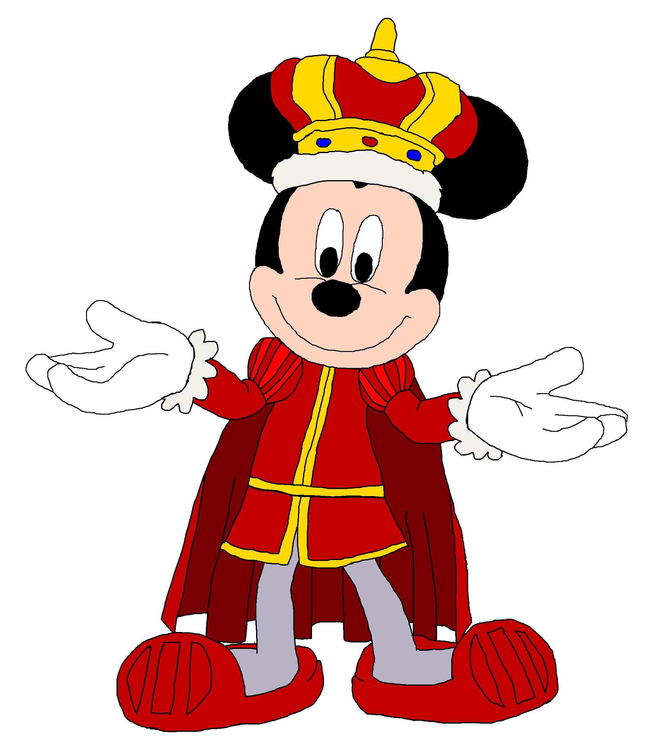 King Mickey.
