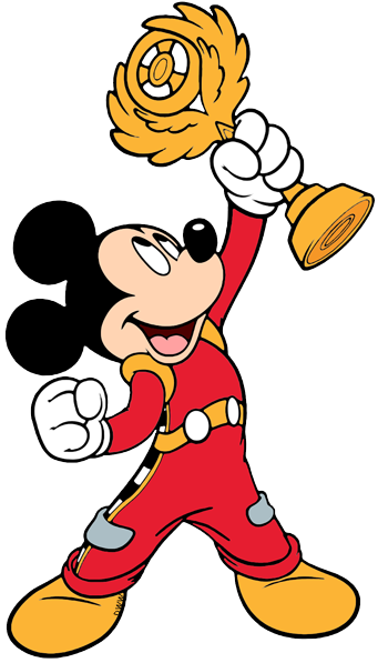 Mickey and the Roadster Racers Clip Art.